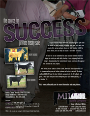 October 2006 Miller Cattle Co Ad